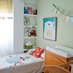 Baby room by AD ARQUITECTURA URBANA