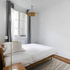 Chambre 2: Chambre de style  par ATELIER FLORENT - Architectes d'Intérieur Paris