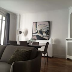 Salle à Manger : Salle à manger de style  par ATELIER FLORENT - Architectes d'Intérieur Paris