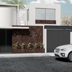Casas de estilo minimalista por Heftye Arquitectura