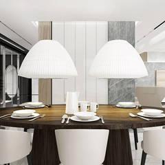 PERFECT MATCH | I | Wnętrza domu: styl , w kategorii Jadalnia zaprojektowany przez ARTDESIGN architektura wnętrz