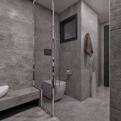 ANTE MİMARLIK  – Ali A. Konut: modern tarz Banyo