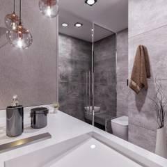 Ali A. Konut Modern Banyo ANTE MİMARLIK Modern