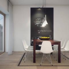 غرفة السفرة تنفيذ Natalia Fahim Interiors