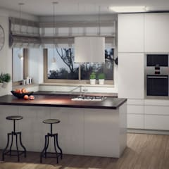 Built-in kitchens by Natalia Fahim Interiors