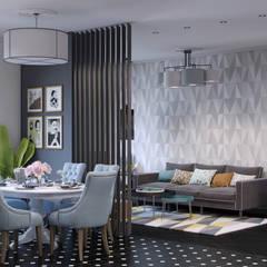 «New Retro»: Столовые комнаты в . Автор – Wide Design Group,