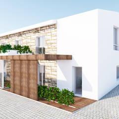 Загородные дома в . Автор – Qiarq . arquitectura+design