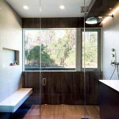 Burningwood Baths: modern Bathroom by KUBE Architecture