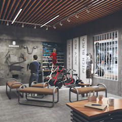 Product info graphics:  Offices & stores by Studio Gritt