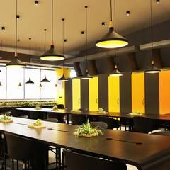 Open workstations:  Office buildings by Studio Gritt