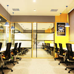 Team box:  Office buildings by Studio Gritt
