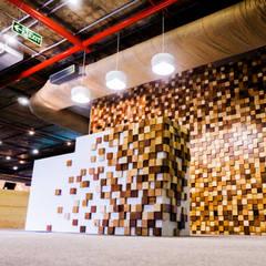 Reception:  Office buildings by Studio Gritt
