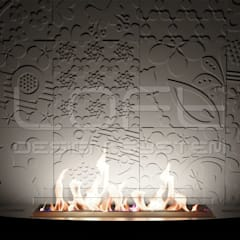 3D Wandpaneel aus GRC Beton:  Wände von Loft Design System Deutschland - Wandpaneele aus Bayern