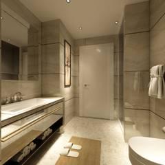 Ali T. Villa - Urla Modern Banyo ANTE MİMARLIK Modern