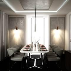 ANTE MİMARLIK  – Ali T. Villa - Urla:  tarz Yemek Odası