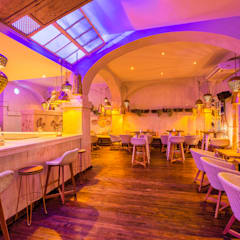 Dining room by Idearte Marta Montoya, Mediterranean
