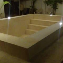 Piscinas de jardín de estilo  por Jarcon Arquitectura e Ingeniería