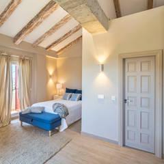 Cuatro Casas en Consolación Dormitorios de estilo mediterráneo de Idearte Marta Montoya Mediterráneo