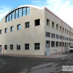 Centro sportivo polifunzionale: Spazi commerciali in stile  di Studio Architetto Alessandro Barciulli