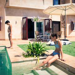Cuatro Casas en Consolación Jardines de estilo mediterráneo de Idearte Marta Montoya Mediterráneo
