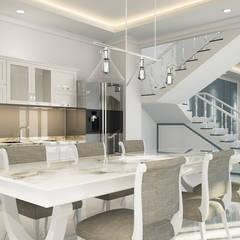 2 Treppen und Wohnzimmer 3D Visualisierung und Architekturvisualisierung - kostenloser Preisvergleich beim Visualisierungskompass.de:  Treppe von ViKo - Dein Visualisierungskompass