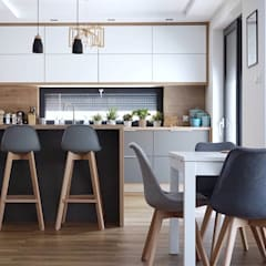 Kitchen units by AL Interiores, Mediterranean Wood Wood effect