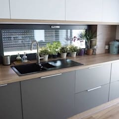 Cozinha Super Moderna: Cozinhas embutidas  por AL Interiores