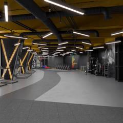Ruang Fitness by Dündar Design - Mimari Görselleştirme
