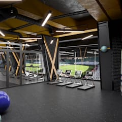 Gym by Dündar Design - Mimari Görselleştirme