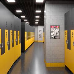 Phòng tập by Dündar Design - Mimari Görselleştirme