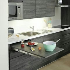 Elegant Fabricación De Cocinas, Baños, Closets Para Departamentos: Cocinas De  Estilo Por CRAT