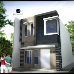 H20 Exterior:  Rumah by Lims Architect