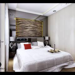 J Permai  Interior:  Kamar Tidur by Lims Architect