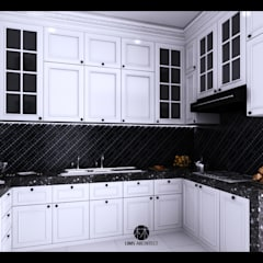 Kitchen Design 1:  Dapur by Lims Architect