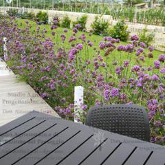 Giardini per villette: Giardino in stile  di Alessandro Lutri - Agronomo Paesaggista
