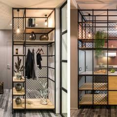BURROW: Soggiorno in stile  di Flussocreativo design studio