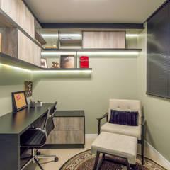 Ruang Kerja oleh Coletânea Arquitetos, Modern