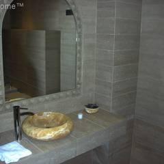 Kamienna Umywalka Z Onyksu - Ferox 513 Umywalka Z Kamienia Na Blat: styl , w kategorii Łazienka zaprojektowany przez Lux4home™