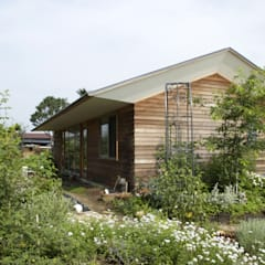 南の庭: 株式会社高野設計工房が手掛けた庭です。