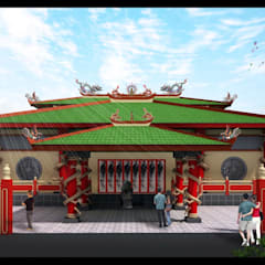 Avalokitesvara Temple Tj.Balai: Venue oleh Lims Architect,