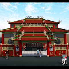 Avalokitesvara Temple Tj.Balai:  Venue by Lims Architect