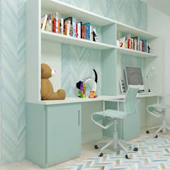 Boys Bedroom by AlevRacu, Modern Wood Wood effect