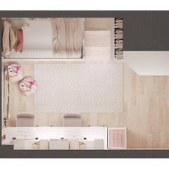 AlevRacu – Çocuk Odası Tasarımları:  tarz Kız çocuk yatak odası