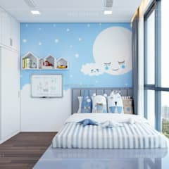 Nursery/kid's room by ICON INTERIOR