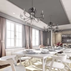 ANTE MİMARLIK  – Yunus E. Ev:  tarz Yemek Odası