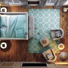 ANTE MİMARLIK  – Yunus E. Ev:  tarz Yatak Odası