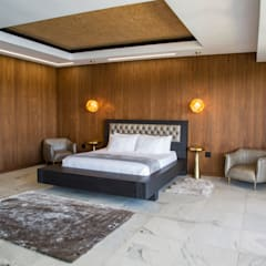 House Ebenezer: A Measure Of Texture :  Bedroom by AB DESIGN,