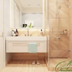 Магия чистоты: ванная и санузлы: Ванные комнаты в . Автор – Компания архитекторов Латышевых 'Мечты сбываются'