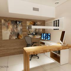 Hospitales de estilo  por T+F Arquitectos, Moderno
