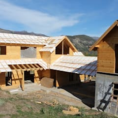 Patagonia Log Homes - Arquitectos - Neuquén의  목조 주택